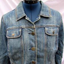 Wak Denim Jacket Blue Jean Size 14/16W Plus Size Women's Coat Long Sleeve