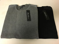 NWT Mens Kenneth Cole New York Nylon Patch Crew Sweater Sportswear SZ M/L/XL/XXL