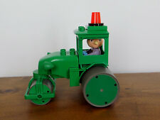 Bob the Builder DUPLO ROLEY Rolly Steamroller Truck Toy & Duplo Spud Scarecrow!