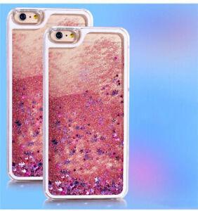 COVER Custodia Glitter Morbida Silicone STRASS Gel per Apple iPhone 6 e 6S Rosa