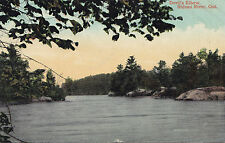 Devil's Elbow RIDEAU RIVER Ontario Canada 1907-15 Valentine Postcard