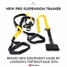 Pro Suspension Trainer Kit Straps TRX Home Gym Resistance Training Bodyweight