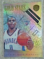 RUSSELL WESTBROOK 2010-11 GOLD STANDARD GOLD STARS CARD #3 004/299