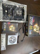 GIGABYTE Z270P-D3 Motherboard LGA1151