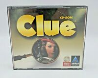Clue Cd-Rom Computer Game New (PC, 1998) Video Game Hasbro