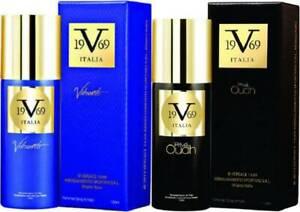 Versace V 19.69 Italia Vibrante & Oudh Prive Combo Men Perfumed - 150ml x 2