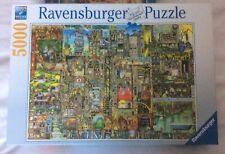 """Jigsaw 5000 Piece Ravensburger """"Bizarre Town"""""""