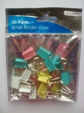 20 pack Small Binder Clips