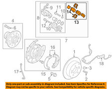 KIA OEM 11-13 Sportage Brake-Rear Pads 583022SA00