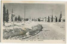 101112FP Spruce Park In Winter Goose Bay Labrador Canada Postcard