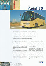 Prospekt VDL Axial 50 (D) Reisebus Bus Omnibus 90er J. brochure coach