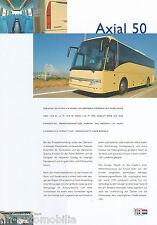 VDL Axial 50 (D) Prospekt Reisebus Bus Omnibus 90er J. brochure prospectus