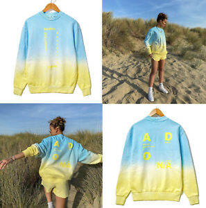 NEW! COLLUSION ASOS Unisex sweatshirt ombre gradient print dyed jumper oversized