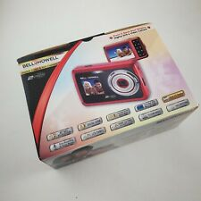 Bell & Howell 2V5-BK 2VIEW 12MP Dual LCD Digital Camera Red