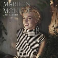 2021 Wall Calendar  Marilyn Monroe, 16-Month, with 180 Reminder Stickers
