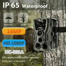 Wildkamera Jagdkamera 1080P 32GB 16MP IP65 Wasserdicht Fotofalle 0.3s für Hunter