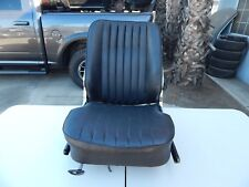 R107 1984-1989 560SL 380SL SEAT WITH FRAME LEFT BLACK ** HEATED TYPE **