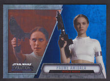 Topps Star Wars - Evolution 2016  - # 16 Padme Amidala - Blue Parallel
