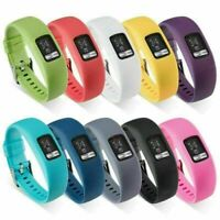 For Garmin VivoFit 4 Activity Tracker Silicone Watch Band Strap Bracelet