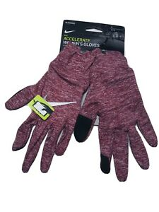 Nike Dri-Fit Women's Running Accelerate Gloves Touch-Screen Size Large