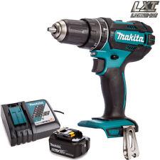 Makita DHP482Z LXT 18V Cordless Combi Drill Body With 1 x 5.0Ah BL1850 + DC18RC