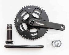 SRAM 2 x 10s Carbon Road Bike Crankset BB30 172.5mm 50/34t 110 BCD Powerglide