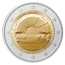 2 euro coin Cyprus 2017 Paphos – European Capital of Culture (UNC)
