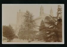 Gloucestershire Glos TEWKESBURY Abbey c1910/30s? RP PPC local pub Norman Bros
