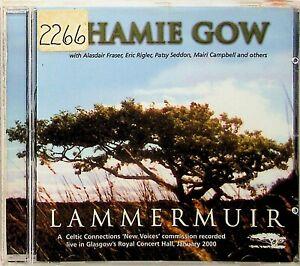 Phamie Gow – Lammermuir Live CD (2001 Greentrax Celtic Folk) Harp Piano