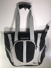 Reebok Light Weight Foldable Accessory Tote Gym Bag Duffel Carry Soft Nylon
