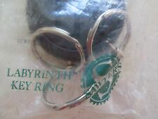VINTAGE AVON **SAWYERS LABYRINTH KEY RING**NEW IN PLASTIC*1992 *MADE IN GERMANY*