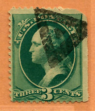 Late-19th C. US Stamp w/TRIANGLE-in-TRIANGLE Fancy Cancel ~ Free Shipping...b16