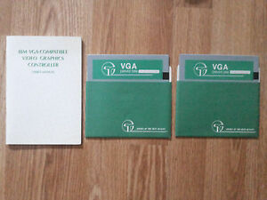 VGA Driver Disks + IBM VGA-Compatible Video Graphics Controller User's Manual