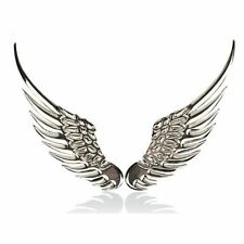 1 Pair Car Fashion Metal Stickers 3D Angel Eagle Wings Car Sticker Motorcycle