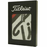 Titleist (TITLEIST) boxed hand towel AJTWH6 black