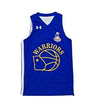 Under Armour Georgia Warriors Reversible Basketball Jersey Youth M Blue White