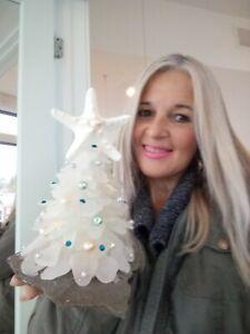 Authentic Sea Glass Tree
