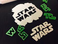 Logo Star Wars Medium Uk Seller Plastic Biscuit Cookie Cutter Fondant Cake Decor