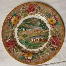 "Wedgwood Landscape dinner plate A4447 Etruria, England 10.5"" in Diameter"
