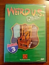 WEIRD U.S.: REAL TALES OF THE BIZARRE VOL 3 (HISTORY CHANNEL) NEW AND SEALED
