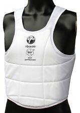 Tokaido karate-chaleco de protección, Tokaido, WKF, Weiss. también taekwondo. Budo, MMA