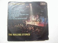 THE ROLLING STONES GIMME SHELTER 1ST PRINT RARE LP MISTAKE ERROR MIS PRINT INDIA