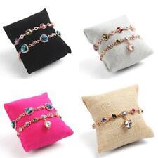 Bracelet Bangle Jewelry Display Case Rack Pillow Shape Stand Organizer Holder