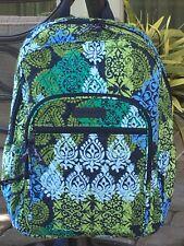 VERA BRADLEY CAMPUS BACKPACK SCHOOL COLLEGE BOOK BAG $109 in CARIBBEAN SEA