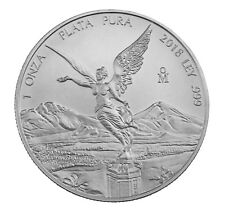 1 Unze oz Silber Silver Libertad Siegesgöttin Mexico Mexiko 2018