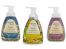 Dr Jacob's Naturals Foaming Castile Hand Soap 10oz (Set of 3 +Free Bar) 3 Scents