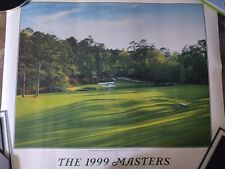 1999 Masters Golf Poster-Augusta National 12th hole NEW