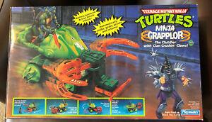 TMNT 1993 Ninja Grapplor Vehicle (NISB; Unopened; Great Condition)