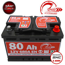 BATTERIA AUTO SPEED L3 80 Ah 680A EN = BOSCH FIAMM VARTA 74 DX + PRONTA ALL'USO