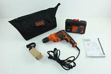 Black+Decker BEH710SA32-QS Schlagbohrmaschine 710 W Set 32 Teile mit Tasche